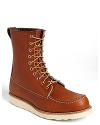 Red wing 877 moc toe boot medium 343175