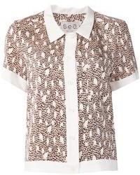 Print shirt medium 47938
