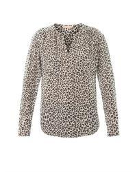 Wildcat silk blouse medium 32959