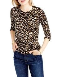 J.Crew Tippi Leopard Print Sweater