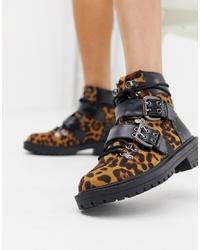RAID Dlyn Chunky Leopard Print Boot