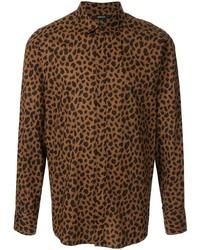 Loveless Leopard Print Shirt