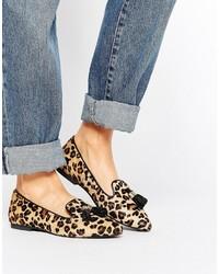 Suede tassle point flat shoe medium 6448673