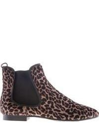 Leopard print chelsea boots medium 90428