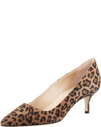 Bb suede 50mm pump leopard medium 38327
