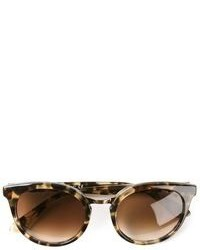 Brown Leopard Sunglasses