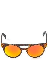Leopard print sunglasses medium 95380