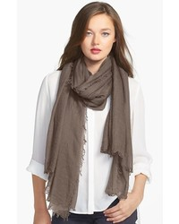 Brown Lightweight Scarf