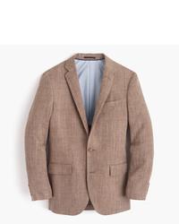 J.Crew Ludlow Blazer In Italian Linen Silk