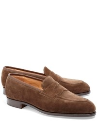 Brown loafers original 527544