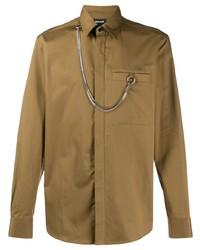 Just Cavalli Chain Detail Shirt