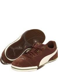Brown Low Top Sneakers