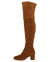 Ralph Lauren Michla Over The Knee Boots Whiskey