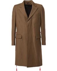 Ann Demeulemeester Hanging Straps Overcoat