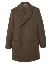 Mango Mero Classic Coat Brown