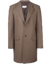Maison Margiela Single Breasted Buttoned Coat