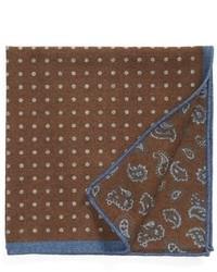 Wool pocket square medium 356043