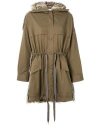 Fur free fur parka jacket medium 5054282