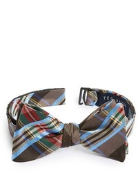 London woven silk bow tie medium 130622