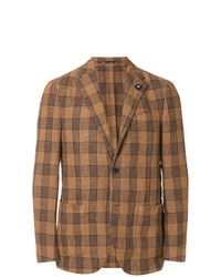 Lardini Plaid Blazer
