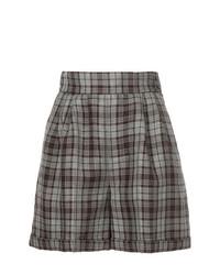 CITYSHOP Plaid Shorts
