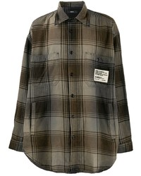 Diesel S Miner Vintage Check Print Shirt