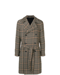Tagliatore Double Breasted Houndstooth Coat