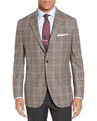 Flynn classic fit plaid wool sport coat medium 746343
