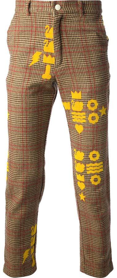 Walter Van Beirendonck Vintage Plaid Trouser