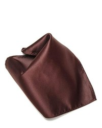 Concitor Clothing Chocolate Brown Hankerchief Pocket Square Hanky
