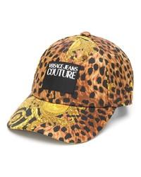 VERSACE JEANS COUTURE Leopard Print Cap