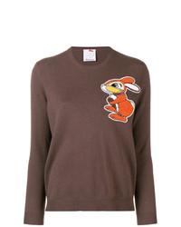 Ultràchic Rabbit Print Sweater