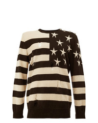 Balmain Stars And Stripes Jumper