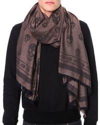 Big skull allover print scarf medium 98823
