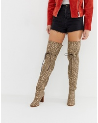 ASOS DESIGN Kyla Thigh High Boots