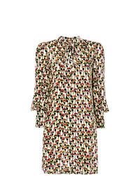 Chloé Poppy Print Shift Dress