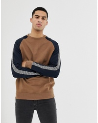 New Look Raglan Sweatshirt In Mink