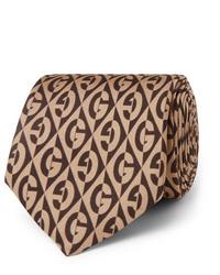 Gucci 7cm Printed Silk Twill Tie