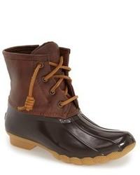 Brown Rain Boots