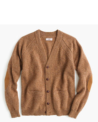 Wallace barnes english shetland wool cardigan sweater medium 333312