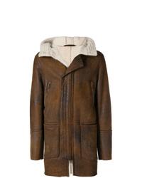 Salvatore Santoro Longline Shearling Jacket