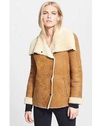 Vince Bi Tone Genuine Shearling Jacket