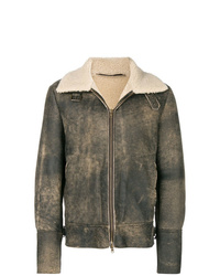 Salvatore Santoro Shearling Collar Jacket