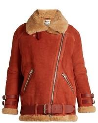 Velocite shearling jacket medium 850021