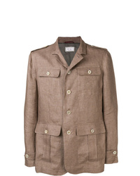 Brunello Cucinelli Buttoned Military Jacket