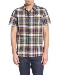 Brown Short Sleeve Shirt