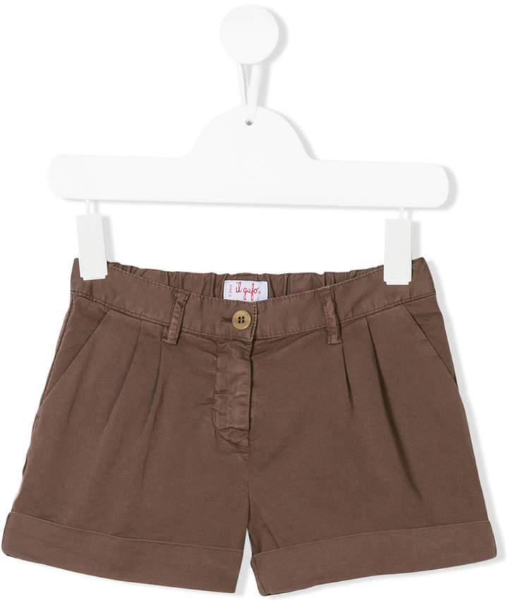 Il Gufo Pleated Shorts