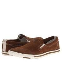 Brown slip on sneakers original 9744766