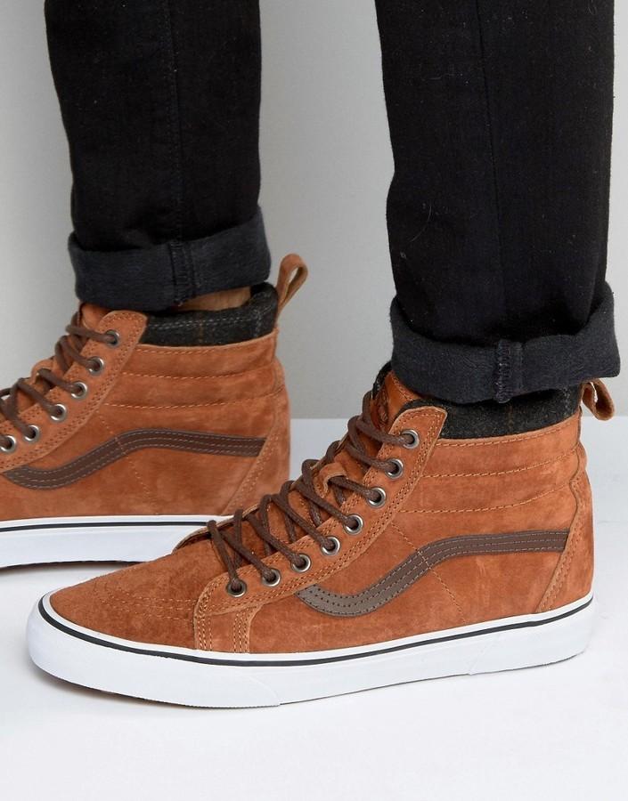 vans men's sk8-hi mte sneaker