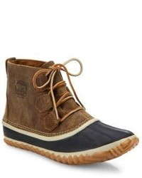 Brown Snow Boots
